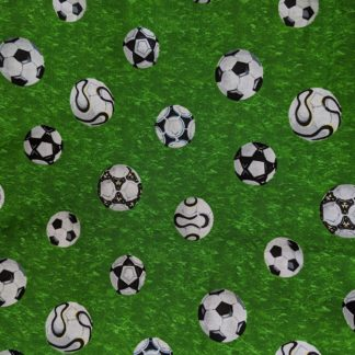 Green Footballs